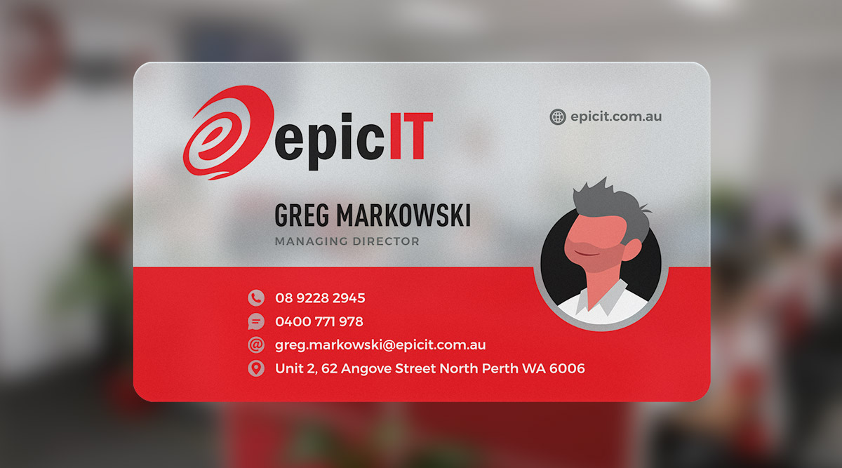 Epic IT Business Card